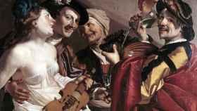 Obra de Dirck van Baburen (1623).