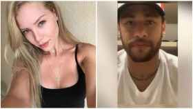 Najila Trindade, la modelo que acusa a Neymar de violación