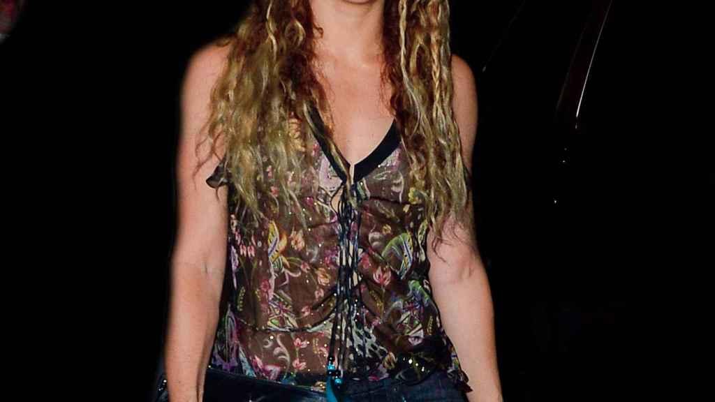 Shakira ha eludido a los medios en su cita con la justicia de este jueves.