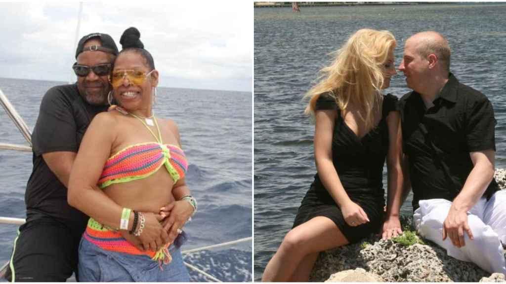 Cynthia y Miranda, de izquierda a derecha, los tres fallecidos en extrañas circunstancias en Punta Cana.