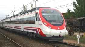 Un tren Civia, modelo que se usará en el proyecto.