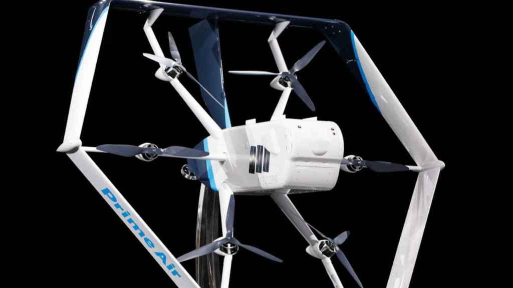Dron de Amazon en Prime Air