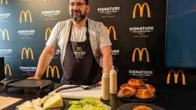 Dani García selecciona las tres nuevas hamburguesas de McDonald's