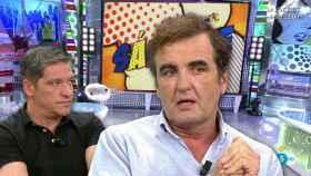 Antonio Montero junto a Gustavo González en montaje JALEOS.