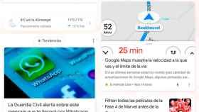 Google Discover: Antes /Ahora