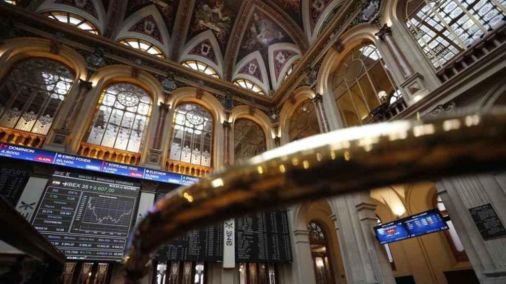 Una imagen de archivo de la Bolsa de Madrid.