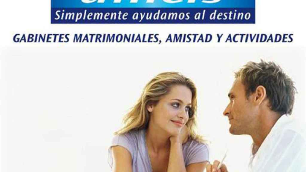 La agencia matrimonial Unicis es especialista en buscar parejas estables.