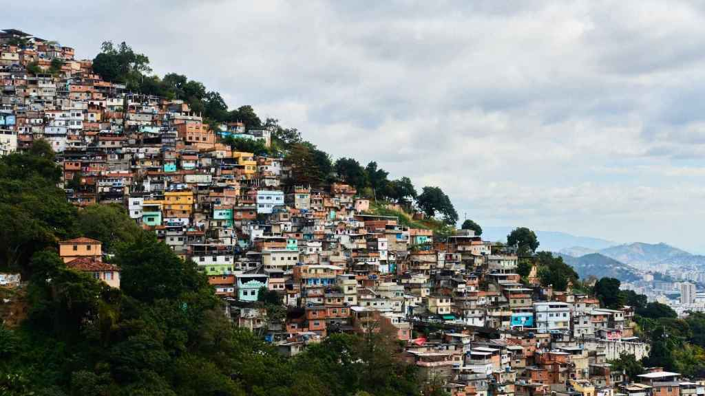 Favelas de Río de Janeiro, las zonas más desfavorecidas del país.