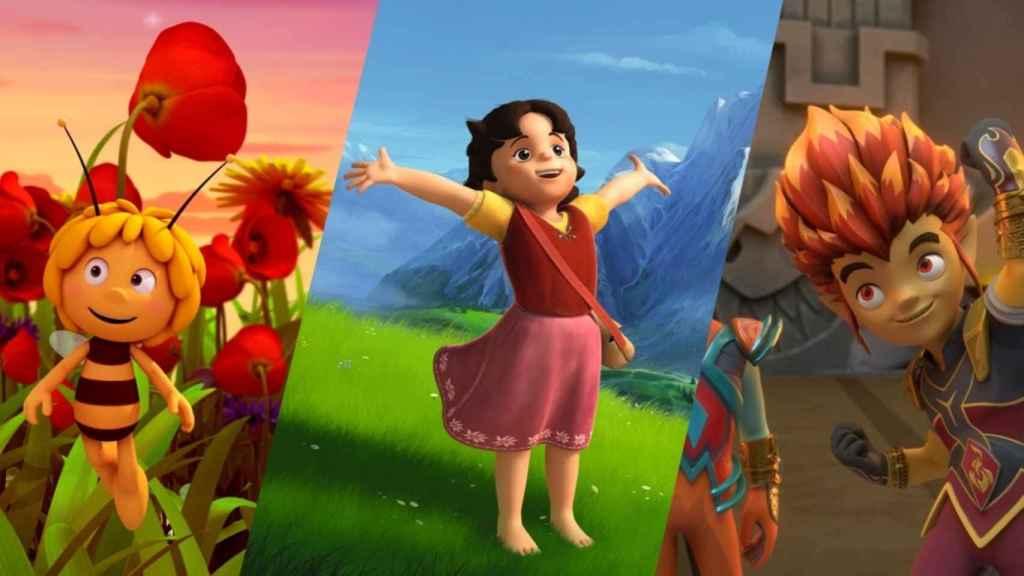 'Heidi' y 'La abeja Maya' llegan al catálogo de Amazon Prime