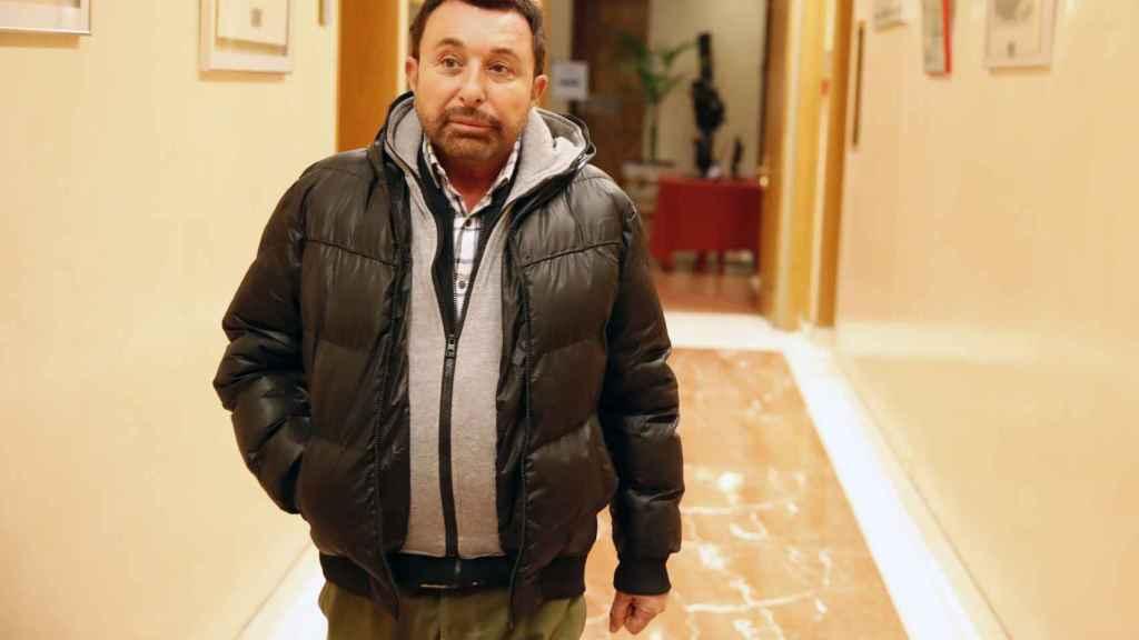 José Manuel Parada ha tenido que ser ingresado en el hospital Puerta del Hierro.