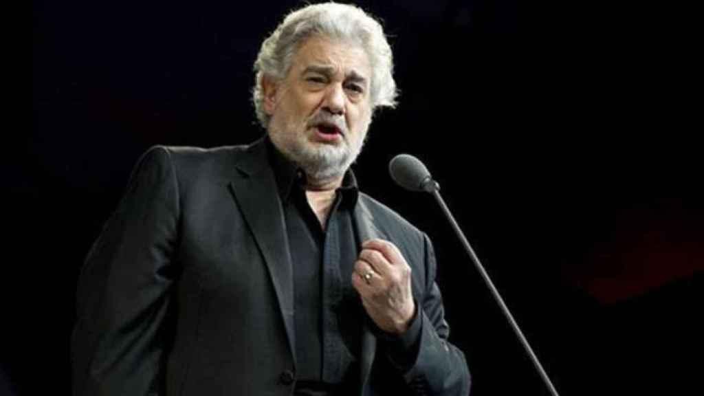 Plácido Domingo, en una foto de archivo.