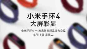 Xiaomi Mi Band 4: primera imagen oficial y fecha de llegada a Europa