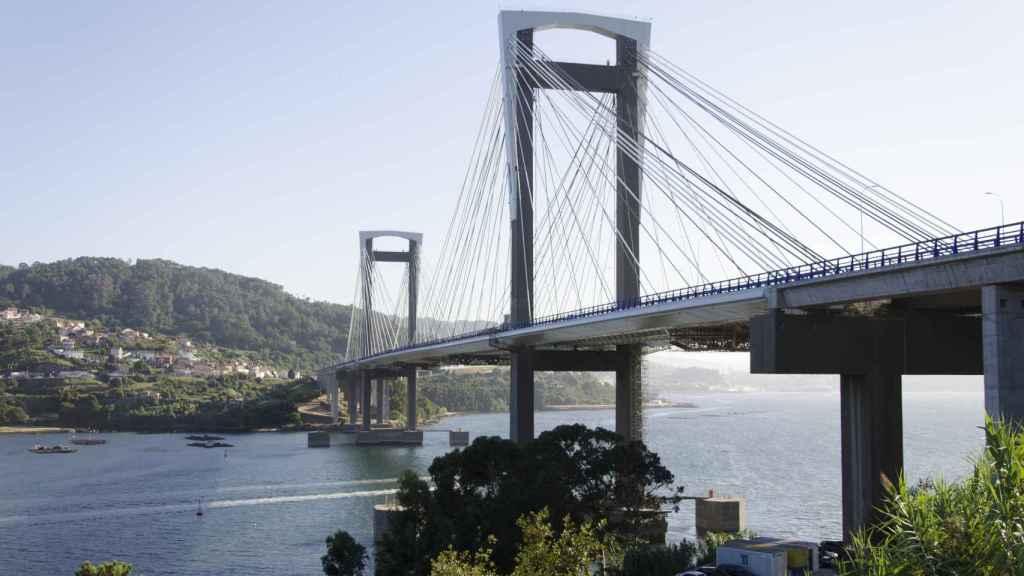 El puente de Rande.