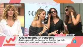 Las Azúcar Moreno en 'Viva la vida' (Foto: teletuits)