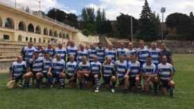 Equipo de rugby de Alcobendas. Foto: Twitter (@AlcobendasRugby)