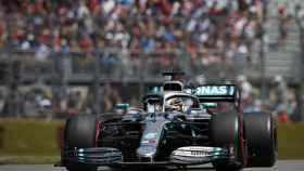 Lewis Hamilton, en el Gran Premio de Canadá