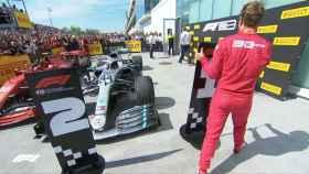 El enfado de Sebastian Vettel en el Gran Premio de Canadá de la Fórmula 1