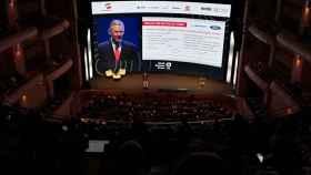 El Teatro Mayor Julio Mario Santodomingo ha sido el escenario del World Business Forum 2019.