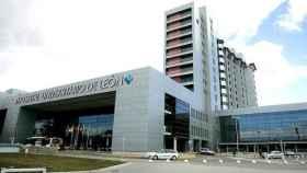 Hospital de León donde murió una peregrina holandesa y ha sido ingresada otra.