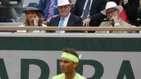 Juan Carlos presencia la final de Roland Garros entre Rafa Nadal y Dominic Thiem.