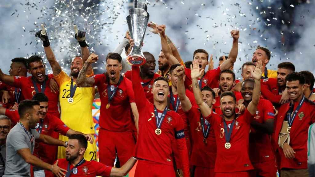 Portugal, campeona de la UEFA Nations League