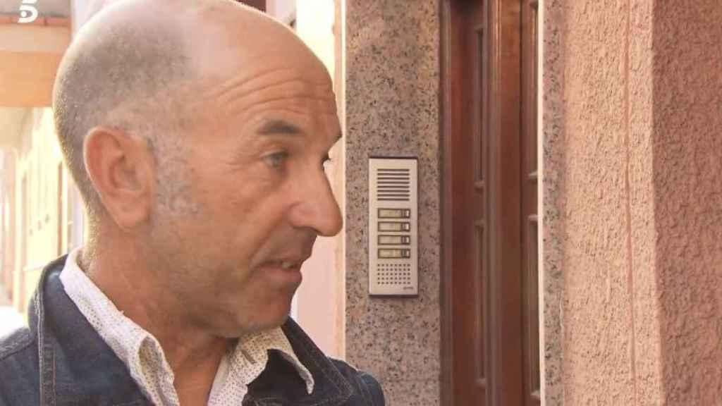 Luis Mangriñán, el padre de Violeta