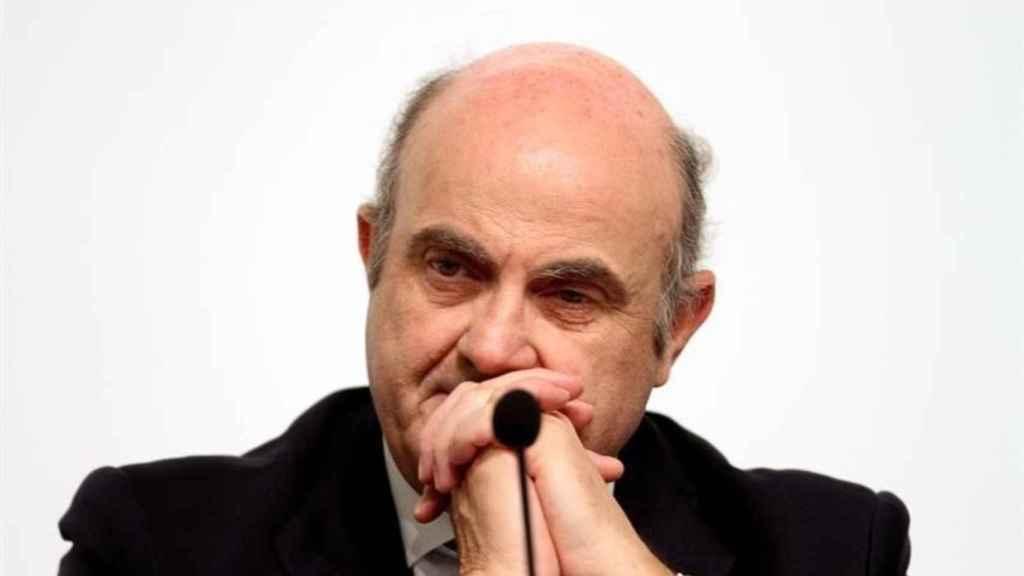 El vicepresidente del Banco Central Europeo (BCE), Luis de Guindos