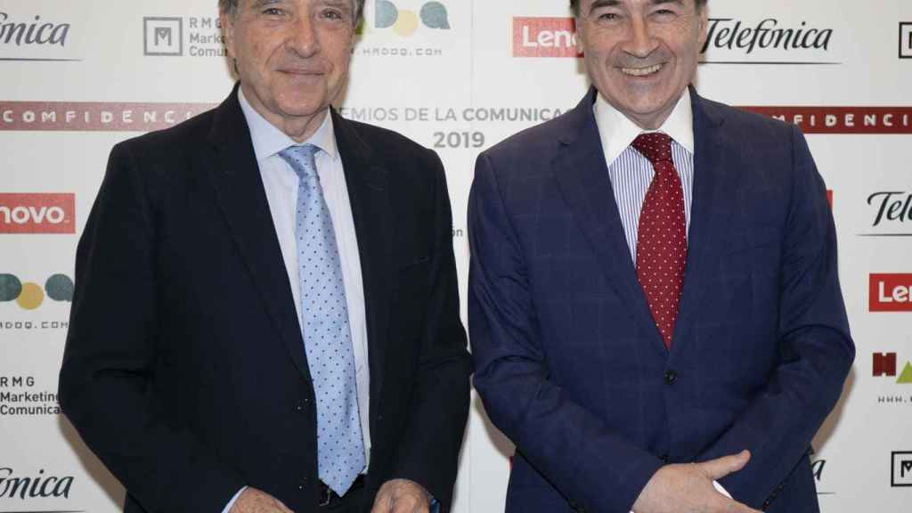 Iñaki Gabilondo y Pedro J. Ramírez asistieron a la entrega de premios de Dircomfidencial.