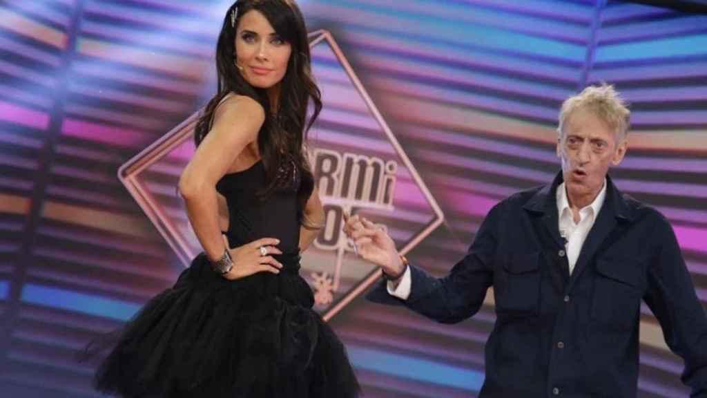 Pilar Rubio muestra su vestido en 'El Hormiguero'