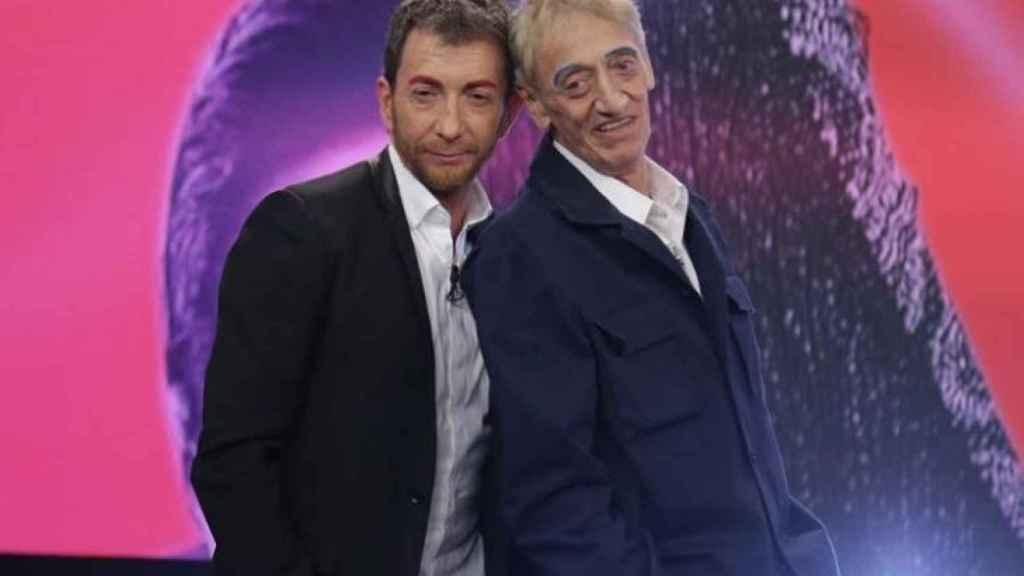 Pablo Motos y Enrique San Francisco en 'El Hormiguero'