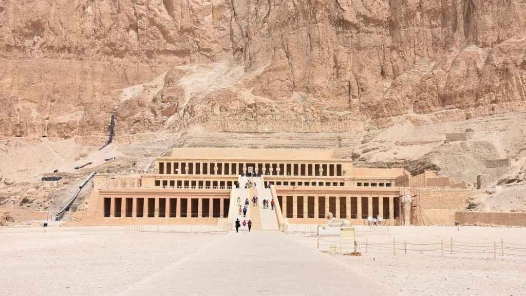 Templo de Hatshepsut en Deir el-Bahari.