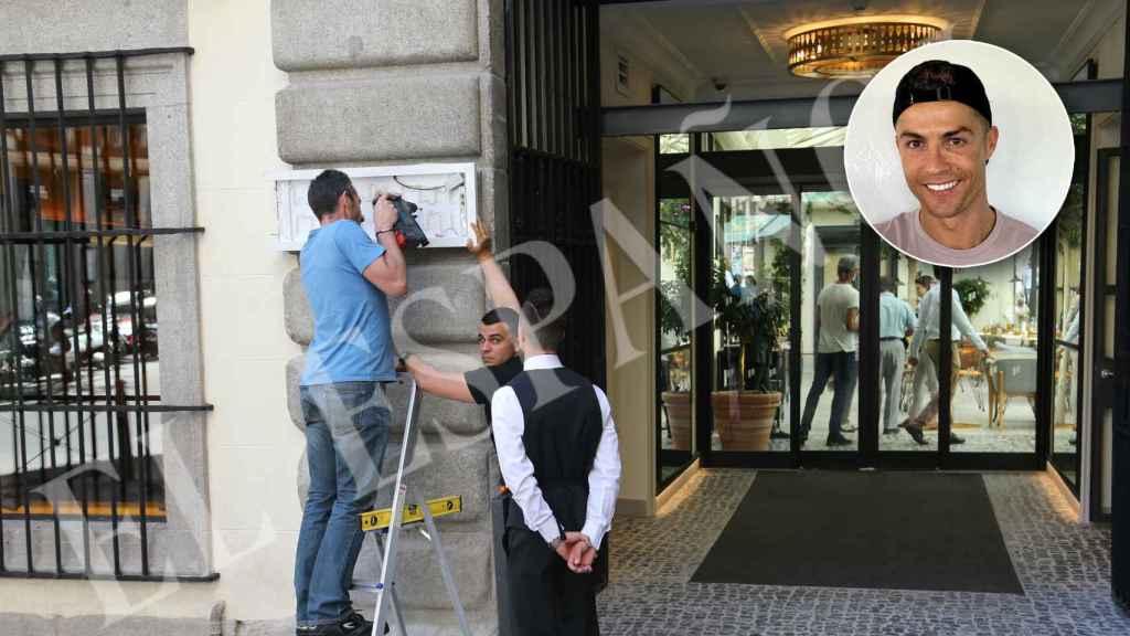 La fachada del Pestana Plaza Mayor, el primer hotel en Madrid de Cristiano Ronaldo.