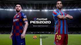 Messi y Ronaldinho serán los protagonistas del PES. Foto: Twitter. (@officialpes)