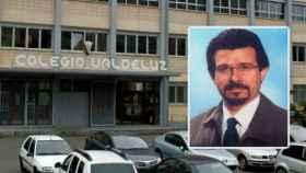 El colegio madrileño Valdeluz y el profesor de música, Andrés Díez Díez.