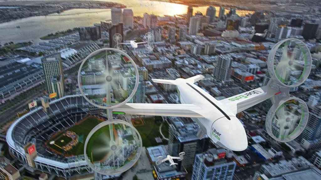 Drone Uber