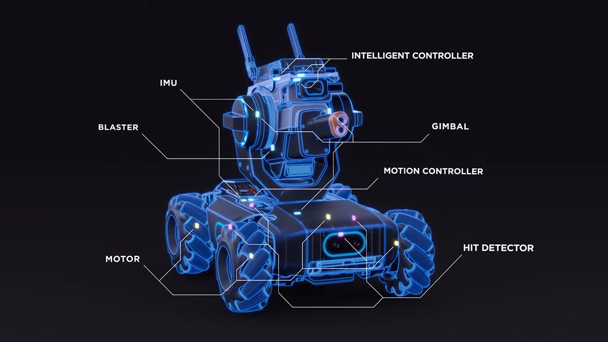 RoboMaster S1 4