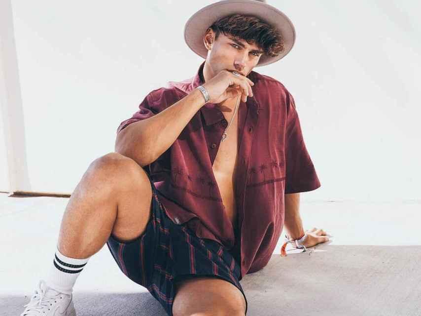 Sergio Carvajal posando en su cuenta de Instagram.