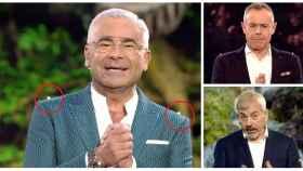 Jorge Javier, Jordi González y Carlos Sobera en montaje JALEOS.