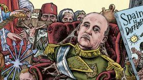 Ilustración de portada de la reedición del 'Diccionario del franquismo'.