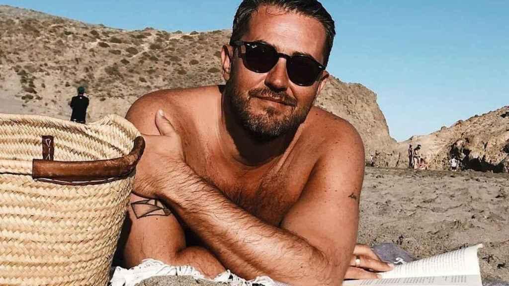 Màxim, en uno de sus descansos en Cabo de Gata, Almería.