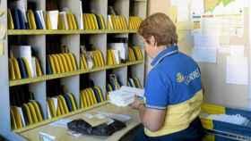 Una oficina de Correos en una imagen de archivo.