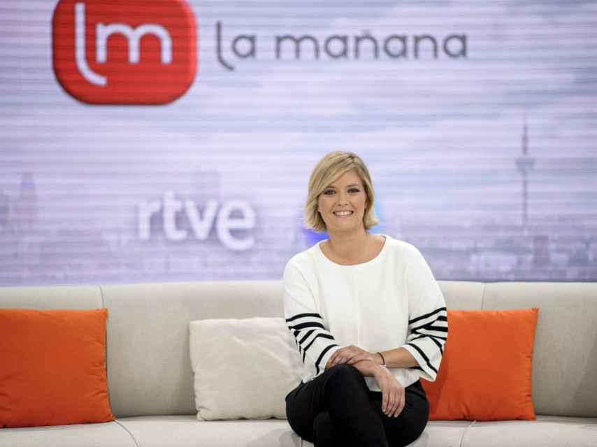 María Casado en una foto oficial en 'La mañana de La 1' en 2016.
