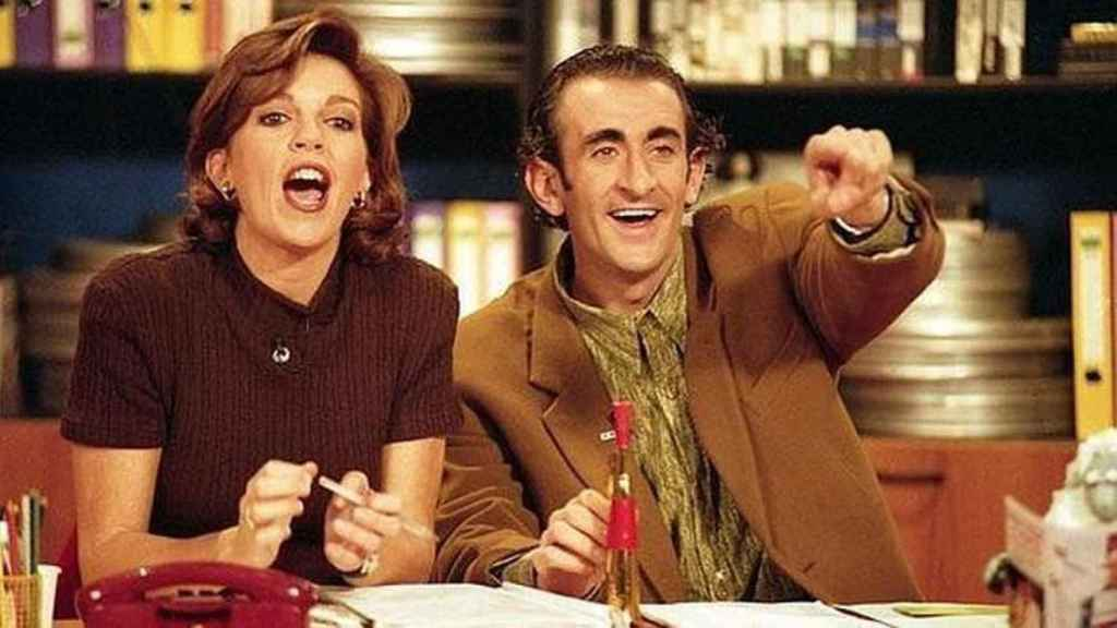 Belinda Washington y 'El Chapis' en una imagen de 1996.
