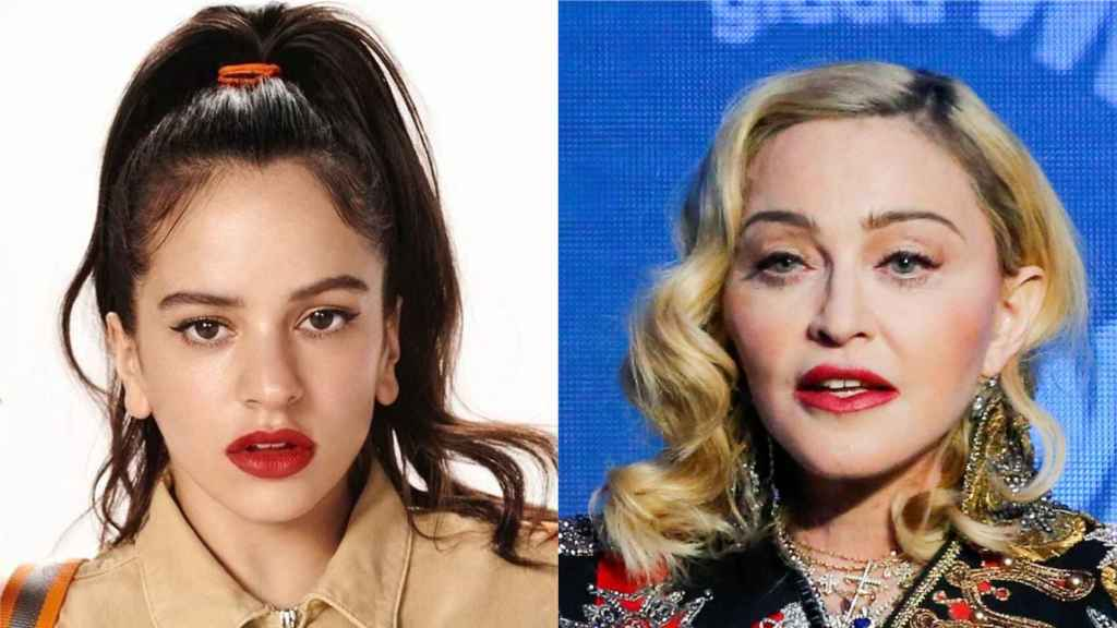 Rosalía y Madonna.