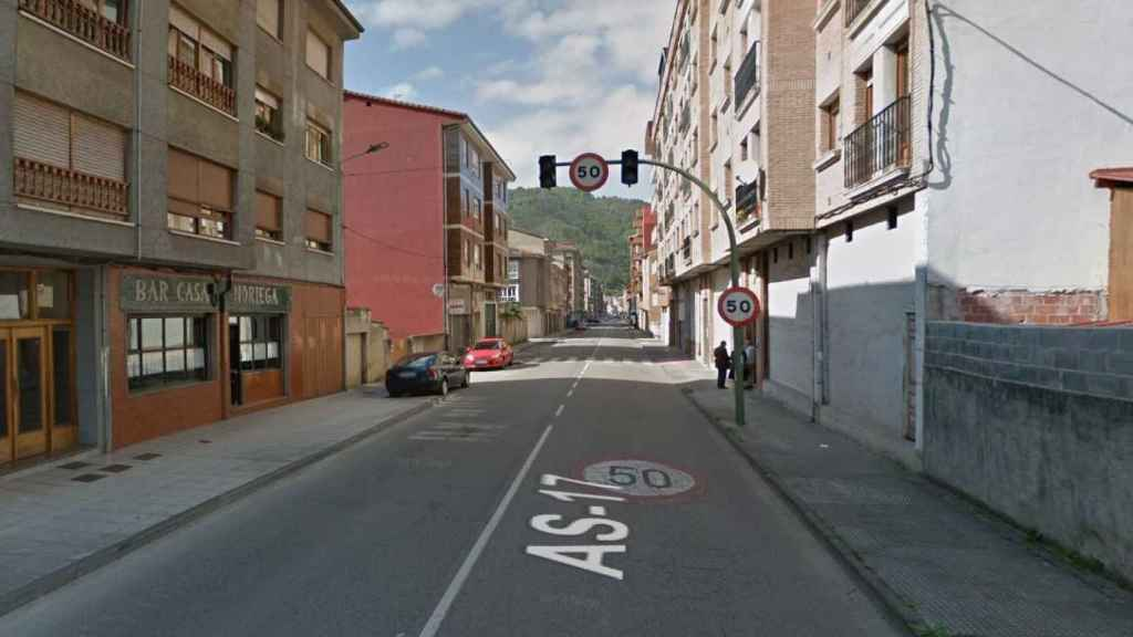 Calle de Bilmea en la que comenzó la persecución
