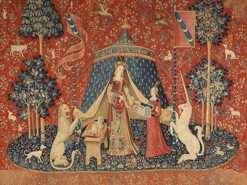 'La dama y el unicornio'.