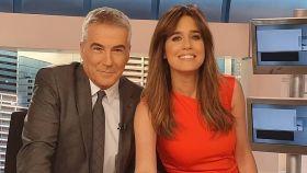Isabel Jiménez y David Cantero en una imagen de sus redes sociales.