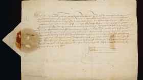 La misiva que Juan II envió a Fernando el Católico.