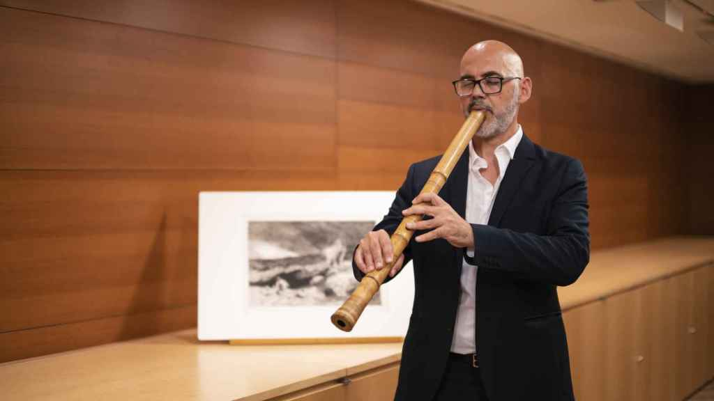 Horacio Curti, solista en Desert, de Ramon Humet.