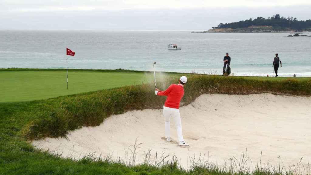 Justin Rose, en el US Open de golf 2019